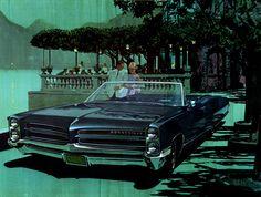 1966 Pontiac Bonneville Convertible - 'Villa Serbelloni': Art Fitzpatrick and Van Kaufman