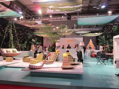 The Dedon space at the Salone in Milan was fab!