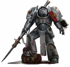 The secret Grey Knights Chapter acts as the Chamber Militant of the Ordo Malleus, the daemon-hunting branch of the Imperial Inquisition. Their fortress-monastery is located on Titan, the largest moon of the gas giant Saturn, which is located in the sacred Sol System. Every Grey Knight Astartes is also a psyker, which makes it all the more remarkable that no Grey Knight has ever turned to Chaos.