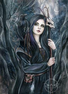 Morgaine by JannaFairyArt on DeviantArt