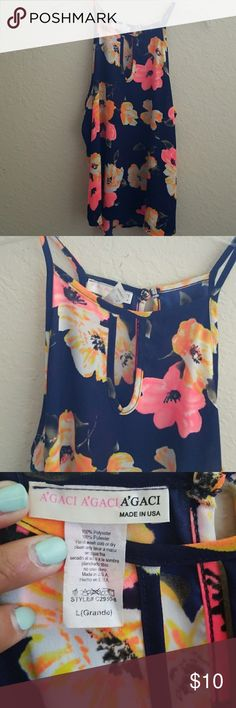Floral Top Thin material  Keeps you cool for the summer Beautiful floral print Tops