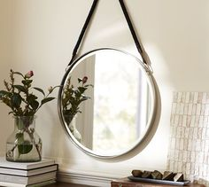 Perfect with the Chrome Fixtures.  Paloma Mirror | Pottery Barn