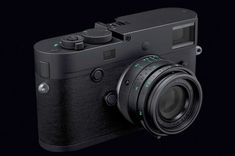 "Leica M Monochrom ""Stealth Edition"" Canon Eos Rebel, Camera Gear, Film Camera, Nikon Dslr, Canon Lens, Canon Cameras, Leica M, Gopro Photography, Kunst"