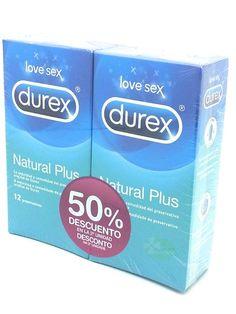 Duplo Durex Natural Plus, 2x12 Ud, Mi otra farmacia
