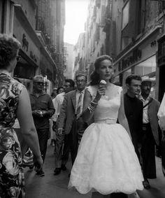 Maria Felix in Venice, 1959 | via Tumblr