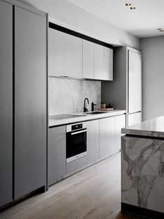 These homes will change the way you think about kitchen storage : A seamless solution for any modern kitchen, inbuilt invisible cupboards in a range of sizes mean the whole room can be turned into a storage space.