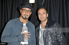A.J. McLean (L) and Howie Dorough of Backstreet Boys attend Perez Hilton's One Night In London at the Electric Brixton on July 13, 2012 in London, United Kingdom.