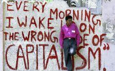 Dit laat zien dat vooral de westerse mensen profiteren van wereldkapitalisme.
