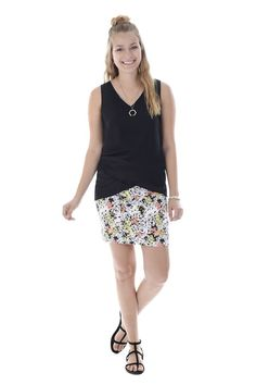 The perfect summer skirt to show off your tanned legs! Mid thigh with waistband. Summer Skirts, Thighs, Sequin Skirt, Sequins, Tanned Legs, Floral, Collection, Fashion, Skirt