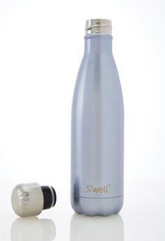glitter water bottle - SAFE to drink out of Wonderland in 17oz