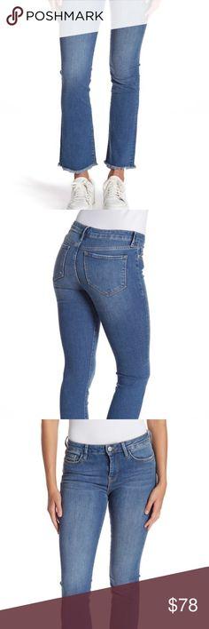 365e4a1e823 Free People Straight Crop Long Leg Jeans Free People Straight Crop Long Leg  Jeans Blue Size