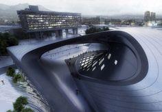 Zaha Hadid diseña el centro de convenciones de Bogotá