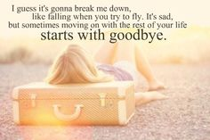 Starts with Goodbye, Carrie Underwood