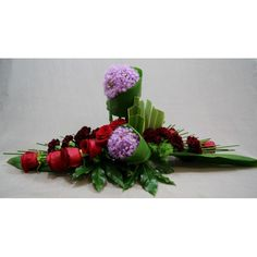 incls midillino stix Contemporary Flower Arrangements, Tropical Flower Arrangements, Flower Arrangement Designs, Church Flower Arrangements, Rose Arrangements, Flower Designs, Home Flowers, Church Flowers, Funeral Flowers
