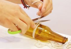 3-Ways-to-Cut-Glass-Bottles-1 | DIY Projects & Crafts by DIY JOY at http://diyjoy.com/how-to-cut-glass-bottles-wine-bottle-crafts