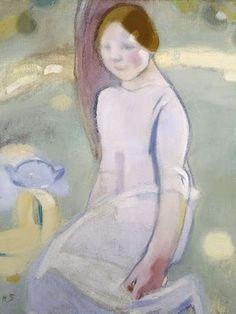 Helene Schjerfbeck (1862-1946) Under the Linden, 1911