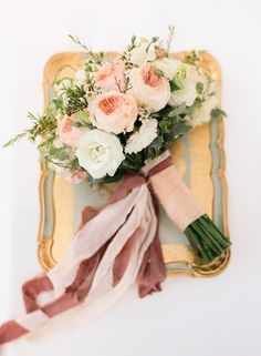 photographer: J Lucas Reyes // florist: Spruce Floral Designs // ribbons: Frou Frou Chic // planner: Boracay Weddings