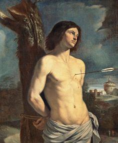 St. Sebastian by Guercino.
