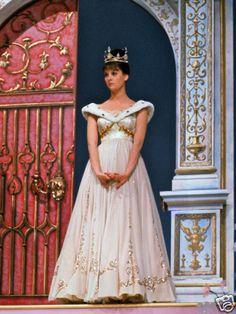 The gown from the 1965 Roger & Hammerstein's Cinderella worn by Leslie Ann Warren.