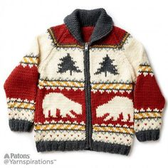 Free Intermediate Knit Jacket Pattern