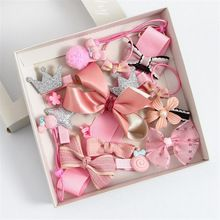 17Pcs/Box Princess Style Hair Jewelry Girls Children Hair Accessorie Sets Baby Hairpins Hair Clips Crown Bow Baby Birthday Gift //Price: $US $8.36 & FREE Shipping //     #hashtag1