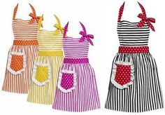 FIFTY TWO FREE APRON PATTERNS