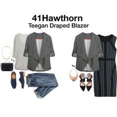 Always love Blazers; great way to dress up tshirts