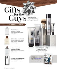 from Applause for January 2020 Guys Grooming, Mk Men, Mary Kay Cosmetics, French Lavender, Cologne Spray, Beauty Consultant, Skin Care Regimen, Gifts For Dad, Valentine Gifts
