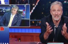 'This Country Isn't Yours!': Jon Stewart Returns for an Epic Trump, Hannity Takedown