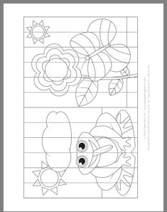 Pin by izabell shehadi on יצירה Bug Crafts, Paper Crafts, Art Therapy Directives, School Coloring Pages, Preschool Writing, School Art Projects, Christmas Coloring Pages, Art Template, Origami Art