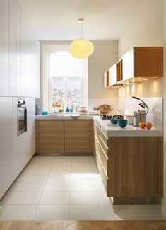L-shaped kitchenshave a practical and desirable format, and thesekitchen conceptspresent  make yourL-shape kitchenwork at its greatest and look its finest. #lshapedkitchencabinets