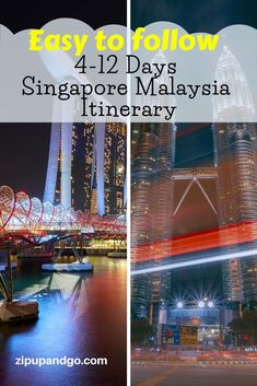 Planning to visit both Singapore and Malaysia in one go? We prepared a comprehensive Singapore Malaysia Itinerary packed with great places for you. Read more on our easy to follow Singapore Malaysia Itinerary! #singaporetravel #malaysiatravel #destinations #singaporemalaysiaitinerary #travelitinerary #asiatravel #travelguide #exploreasia #easytofollowguide Visit Singapore, Singapore Malaysia, Singapore Travel, Malaysia Itinerary, Malaysia Travel Guide, Singapore Attractions, Travel Information, Plan Your Trip, Asia Travel