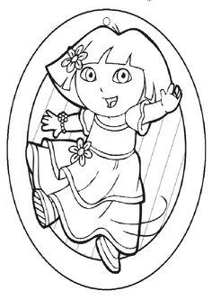 Ausmalbilder Dora_66.jpg   Ausmalbilder Dora   Pinterest