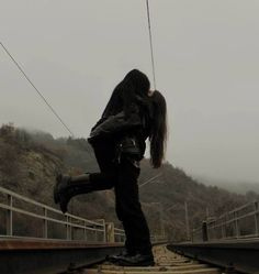 black metal couple dark ♥♥♥