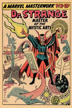 Dr. Strange by Steve Ditko