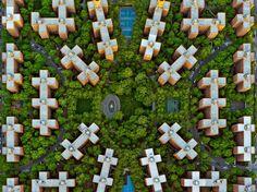 New York City aus der Vogelperspektive