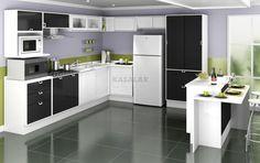 Cozinhas moduladas - http://dicasdecoracao.net/cozinhas-moduladas/