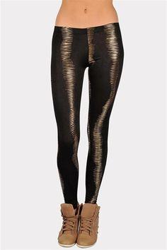 Golden Eye Legging - Black - $17.99