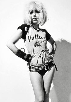 Young Blondie makes a good Harley Quinn.