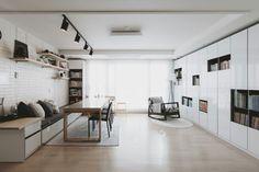 삼송동 아이파크아파트 33평형 북카페 스타일 홈디자인 #bookcafe #livingroom #homestyle #홈디자인 #리모델링 #거실 #인테리어 #아파트인테리어 #투앤원디자인스페이스
