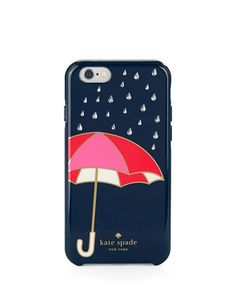 """<ul> <li>Precipitation chic in a hardshell design</li> <li>Compatible with an iPhone 6 Plus</li> <li>3""""W X 6""""H X 0.25""""D</li> <li>Resin</li> <li>Imported</li> </ul>"""