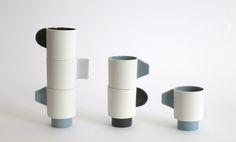 Ceramic Mugs, Ceramic Bowls, Fisher, Potted Trees, Modern Ceramics, Ceramic Design, Clay Art, Just Do It, Teapot