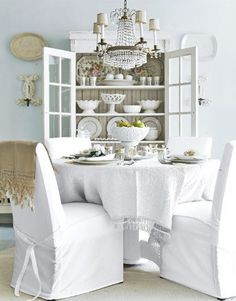 the simple elegance of all white
