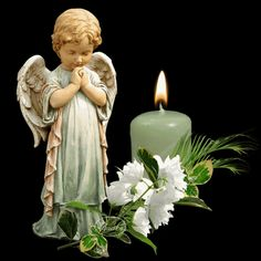 Images Gif, Love Images, Beautiful Candles, Beautiful Roses, Lady Of Lourdes, Greetings Images, Beautiful Flowers Pictures, Angel Pictures, Good Night Image