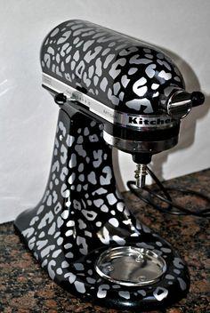 Leopard Kitchenaid Mixer Makeover - Addicted 2 Savings 4 U