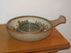 Soholm Stentoj Bornholm Denmark Pottery Candle Holder   eBay