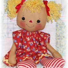 Rag Doll & Softie Patterns to Sew Soft Toys & Animals / Lindy Ann