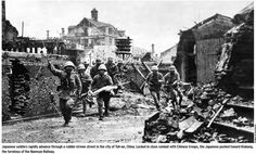 Japanese to progress in the city of Toh-an, China WW2 Locked in close combat with chinese troops, the japanese pushed toward klukang, the terminus of the Nannsun Railway - Pin it by GUSTAVO BUESO-JACQUIER
