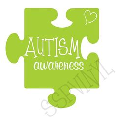 Autism Awareness Puzzle Piece Car Vinyl Decal by SSPVinyl on Etsy, $5.00