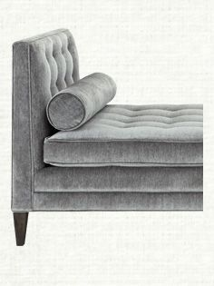 Clancy Upholstered Daybed In Vangogh Fog